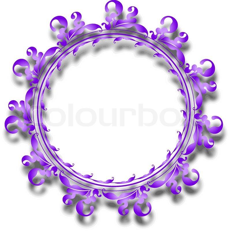 Runde Rahmen | Vektorgrafik | Colourbox