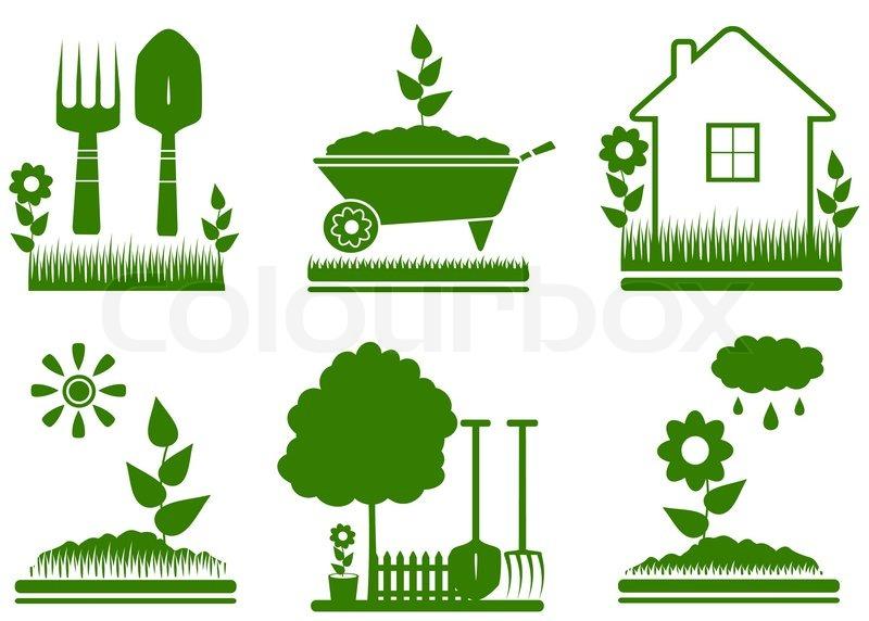 fertilize lawn clip art