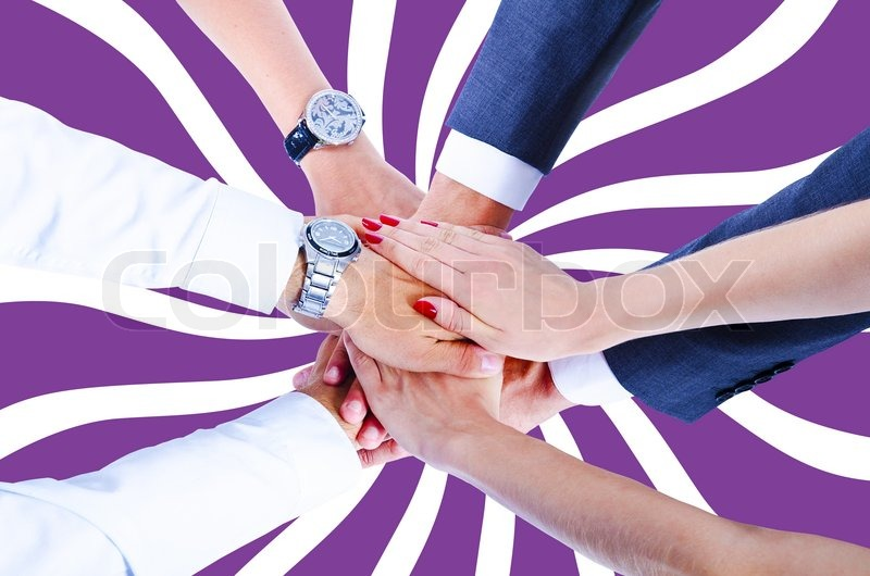 Teamwork,holding hands,handshake,business background ...