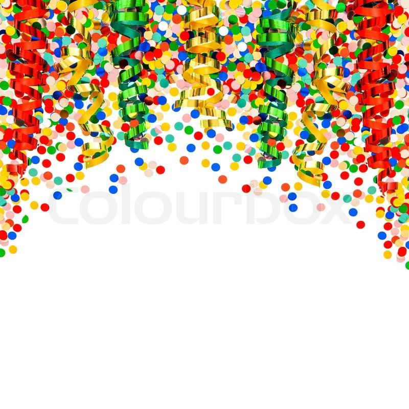 Karneval Party Dekoration Girlanden Luftschlangen Und