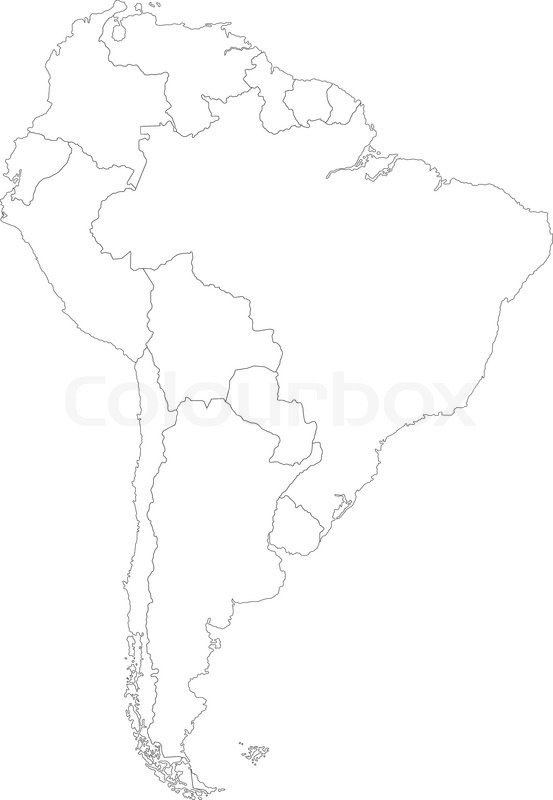 Image Result For Venezuela Colombia Map