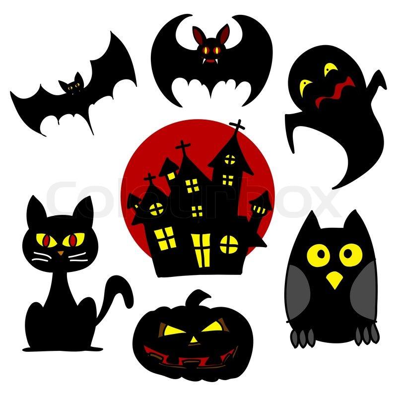 halloween charakter zeichentrickfilm vektorgrafik. Black Bedroom Furniture Sets. Home Design Ideas