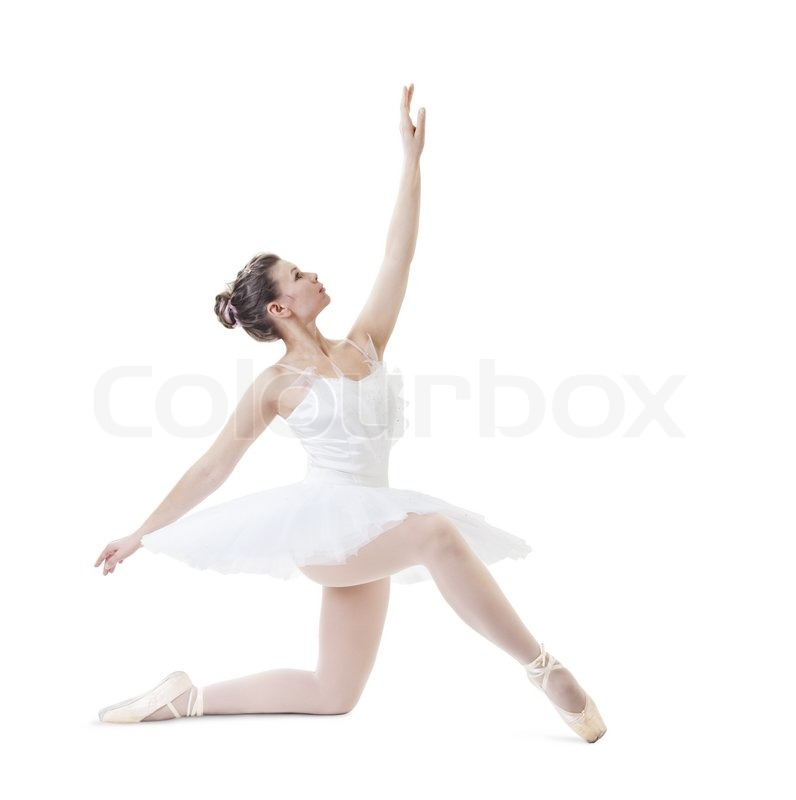 Schone ballerina stock foto colourbox for Bild ballerina