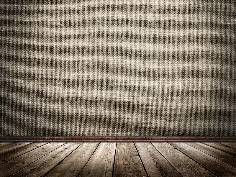 Berühmt Stoff Wand und Holzboden in einem   Stock Bild   Colourbox BM28