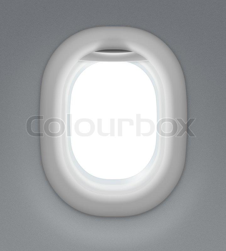 Innenraumfenster  Jet Innenraum Fenster | Stockfoto | Colourbox