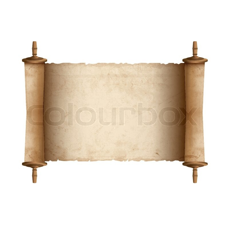 Ancient Scroll: Ancient Scroll. Vector Illustration