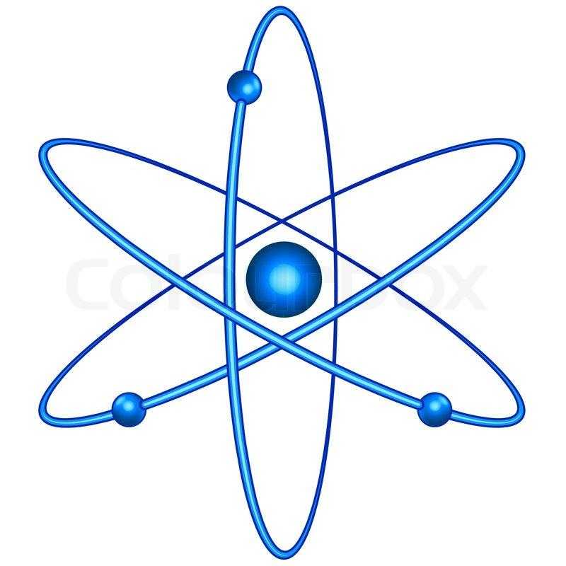 atom stock vector colourbox