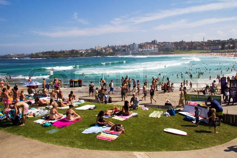 NORTH BONDI BEACH AUSTRALIA