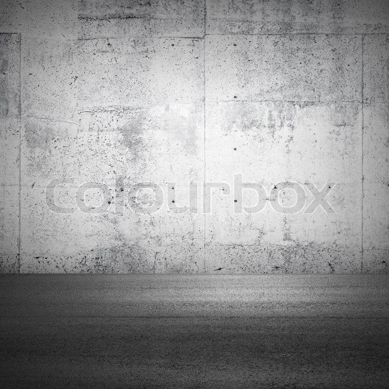 abstrakt parkplatz innen fragment mit betonwand und asphalt boden stockfoto colourbox. Black Bedroom Furniture Sets. Home Design Ideas