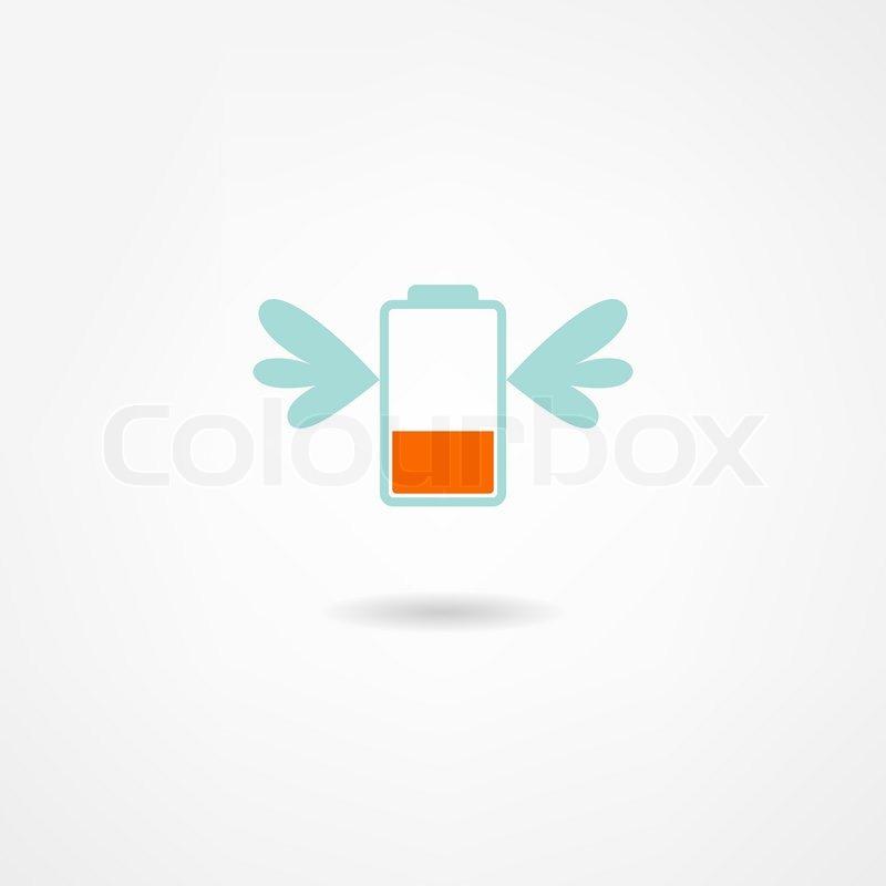 Batterie-Symbol | Vektorgrafik | Colourbox