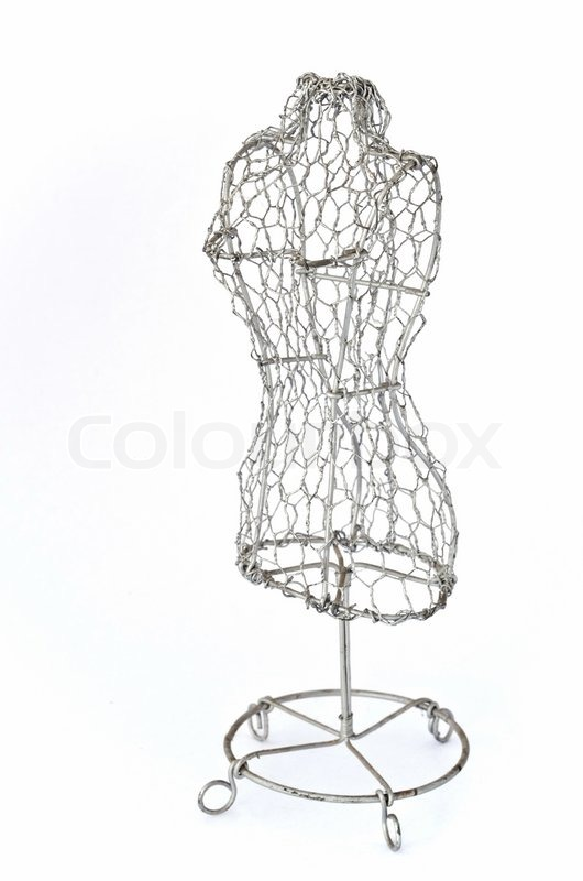 Mannequin aus Draht | Stockfoto | Colourbox