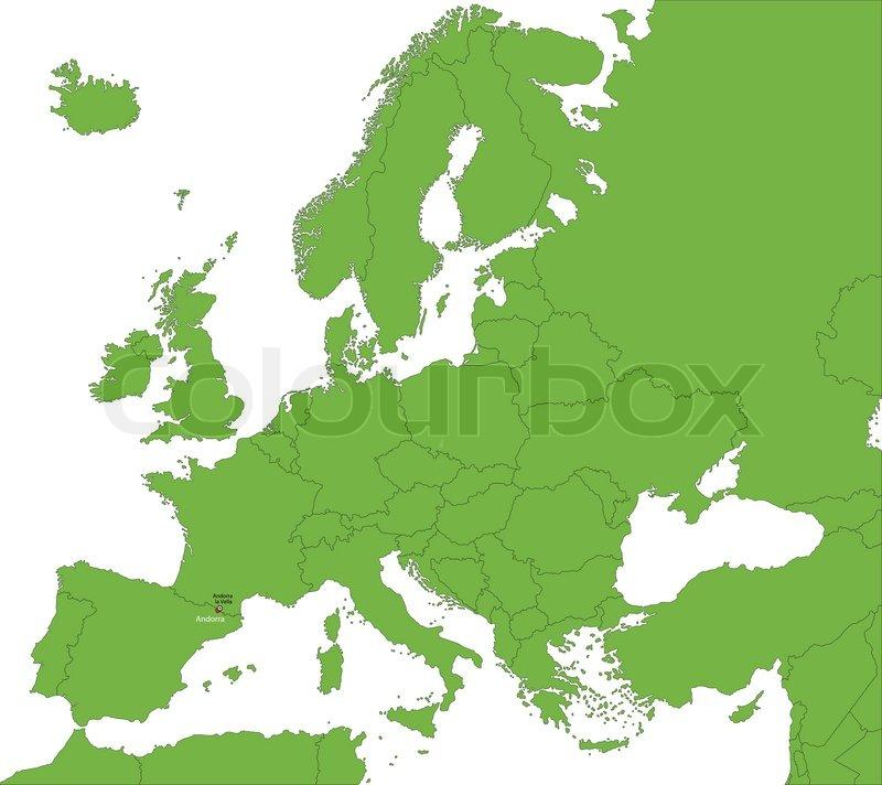 andorra landkarte