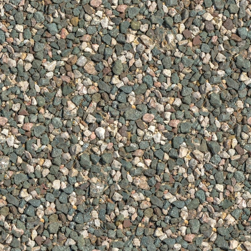 Seamless Tileable Texture Of Crushed Granite Stock Photo