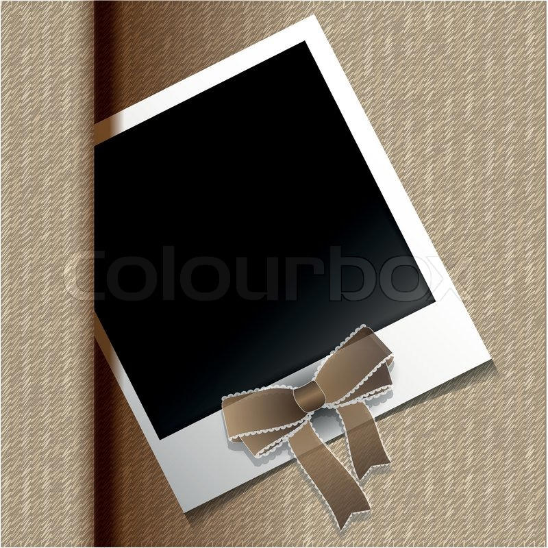 polaroid foto vektorgrafik colourbox. Black Bedroom Furniture Sets. Home Design Ideas