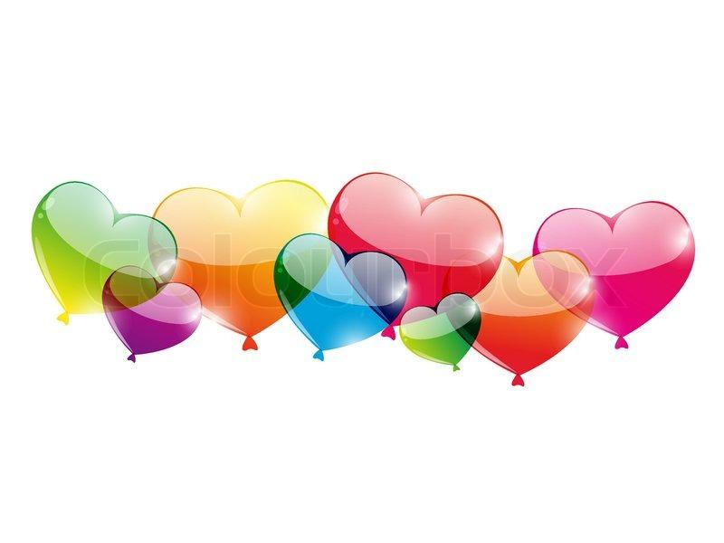 balloons white background - photo #19