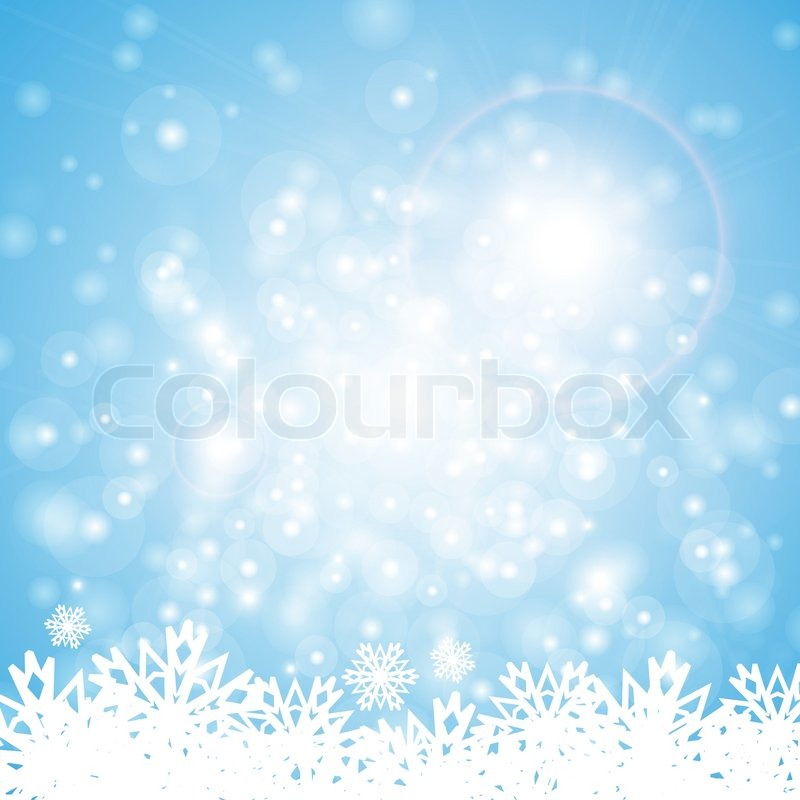 festliche blauen hintergrund mit beleuchtung weihnachten konzept vektorgrafik colourbox. Black Bedroom Furniture Sets. Home Design Ideas