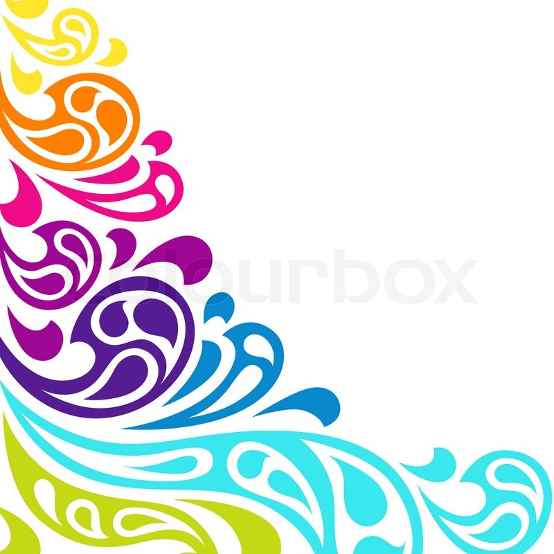 """""""Water splash seamless waves abstract pattern."""" 