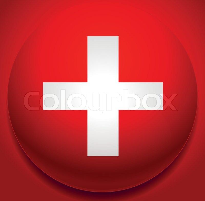 Rotes Kreuz Zeichen Illustration / Konzept Bild - Addition, plus ... | {Rotes kreuz symbol 22}