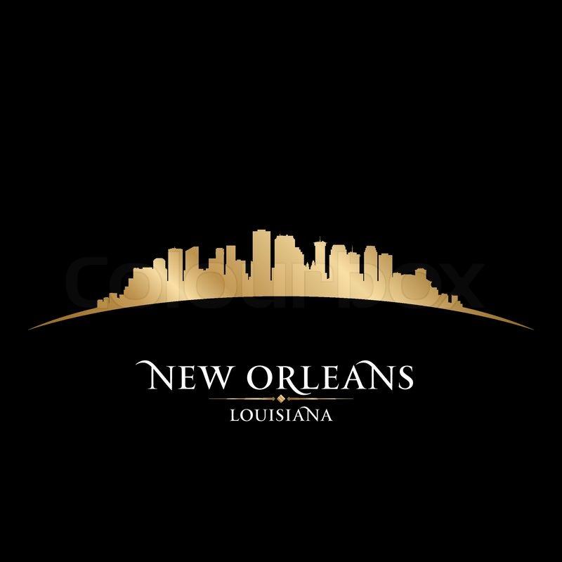 New Orleans Louisiana City Skyline ...