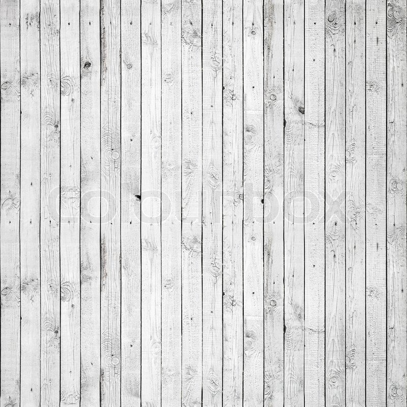 Seamless Background Texture Of Old White Painted Wooden Lining Boards Wall  | Stock Photo | Colourbox