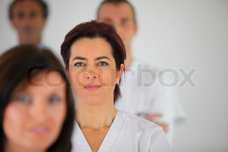 Stock image of 'Nurse'