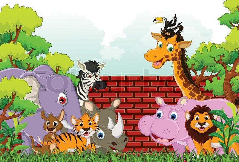 cute cartoon baby elephant wallpaper