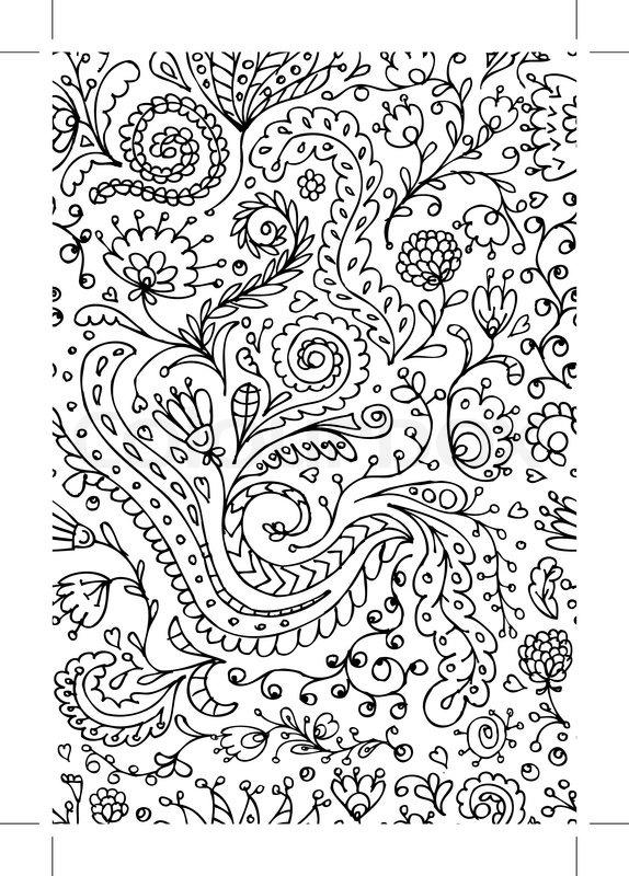ornamental floral nahtlose muster f r ihr design vektorgrafik colourbox. Black Bedroom Furniture Sets. Home Design Ideas