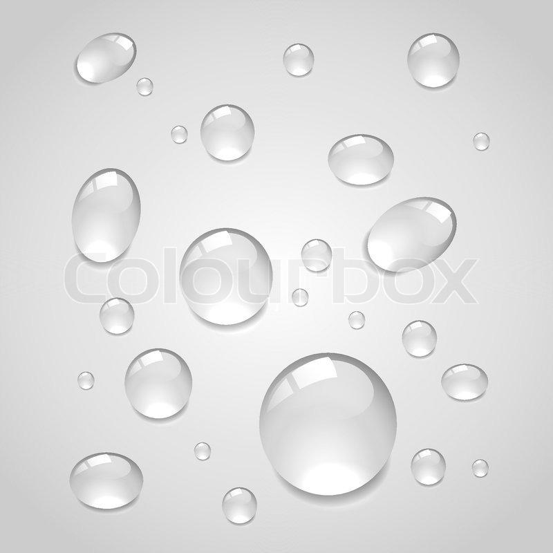 Water Drop Vector Stock Vector of 39 Water Drops