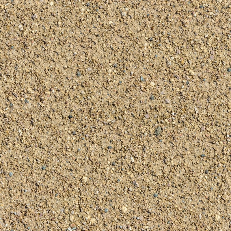 Country Road With Small Stones Seamless Texture Stock
