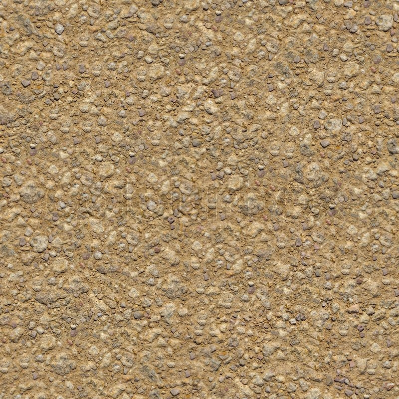 Dirty Rocky Ground Seamless Tileable Stock Photo