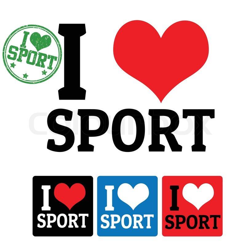 Я люблю спорт картинки