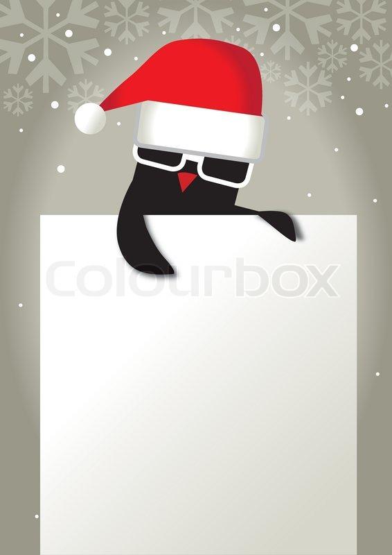 Coole Weihnachten Stock Vektor Colourbox
