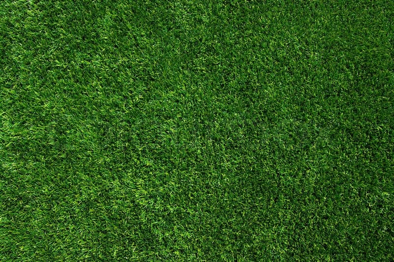 Background Of A Green Grass Texture Stock Photo
