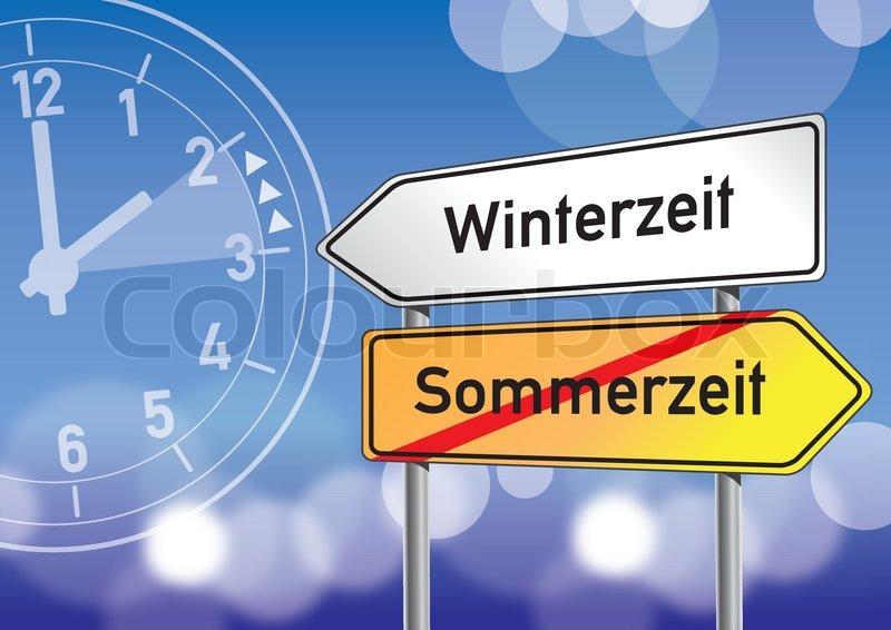 Sommerzeit Winterzeit
