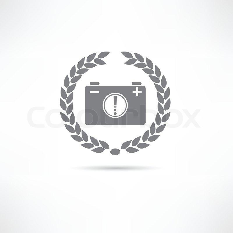 Niedlich Elektrisches Symbol Der Batterie Bilder - Elektrische ...
