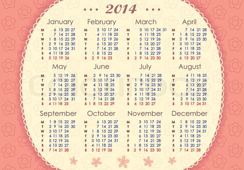 Search Results for: Free Printable Horizontal 2015 Year Calendar/page ...