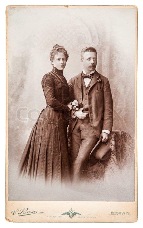 berlin germany circa 1880 antique family portrait