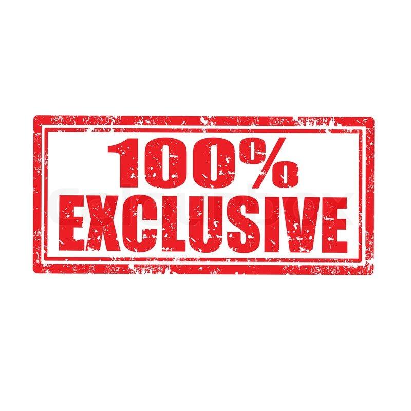 Exclusive Interviews Pictures More: 100% Exklusiv - Stempel