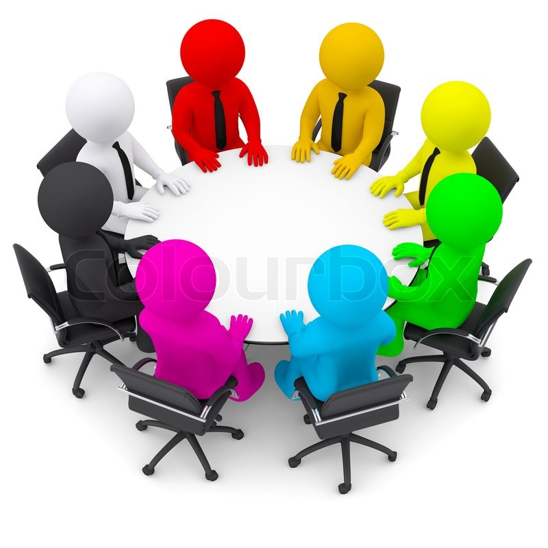table. Isolated render on a white background | Stock Photo | Colourbox