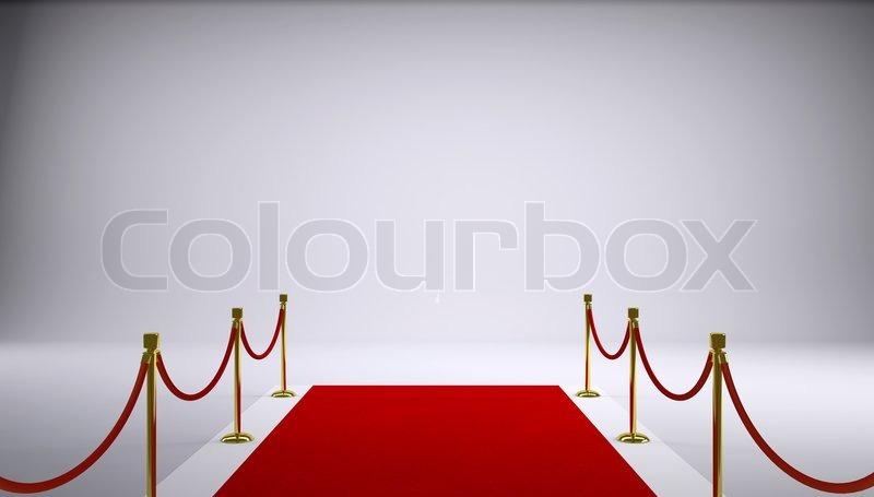 Der rote TeppichStockfoto  Colourbox