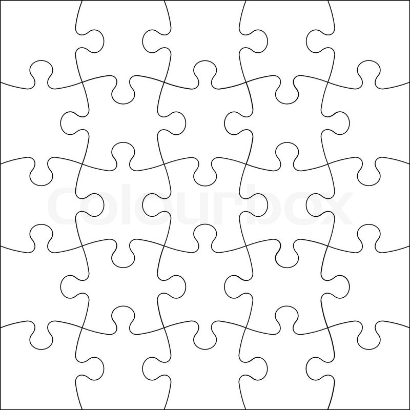background vector illustration jigsaw puzzle stock vector colourbox rh colourbox com puzzle vector files puzzle vector outline