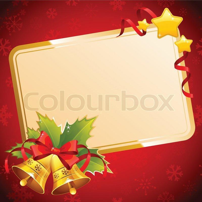 dekorative weihnachten einladung postkarte mit. Black Bedroom Furniture Sets. Home Design Ideas