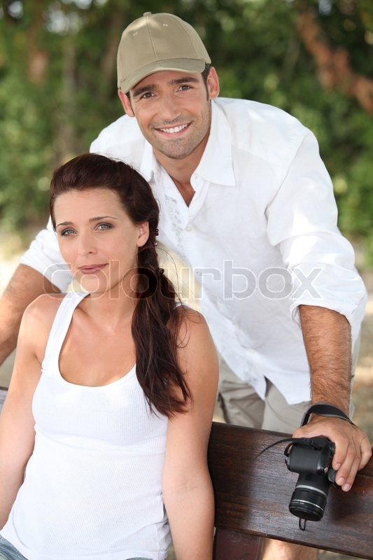 Stock image of 'Couple in holidays'