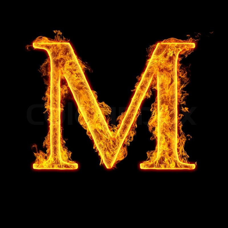 Fire alphabet letter m isolated on black background stock photo fire alphabet letter m isolated on black background stock photo colourbox altavistaventures Gallery