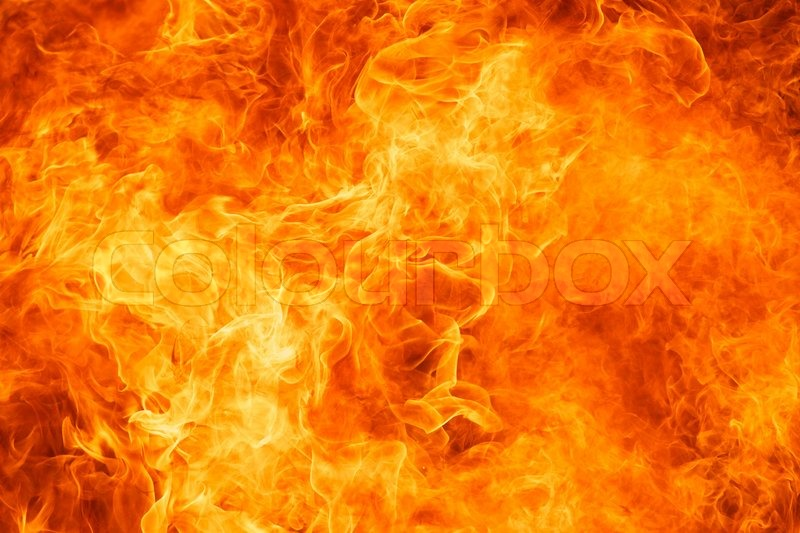 Blaze Fire Flame Texture Background Stock Photo Colourbox