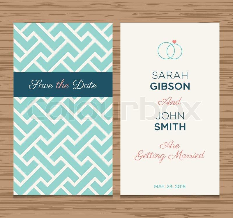 Wedding card invitation template editable, pattern vector design ...
