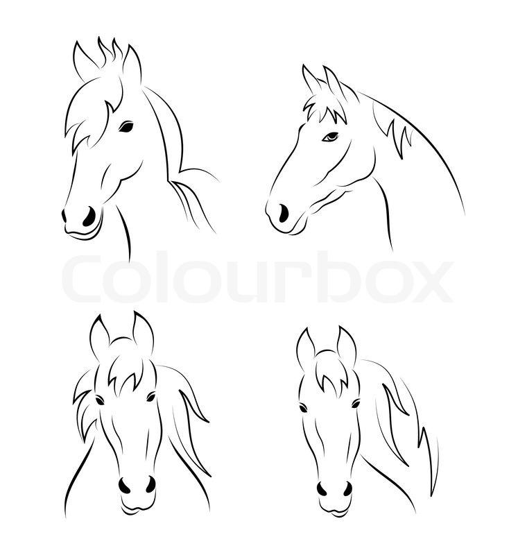 Charmant Viertel Pferdekopf Malvorlagen Bilder - Beispiel ...