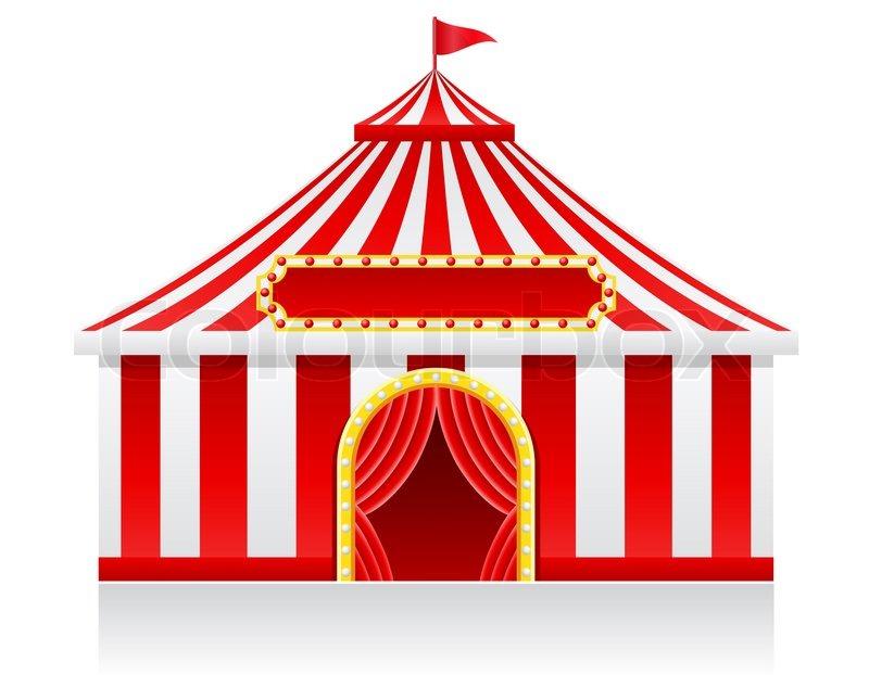 sc 1 st  Colourbox & Circus tent illustration | Stock Photo | Colourbox