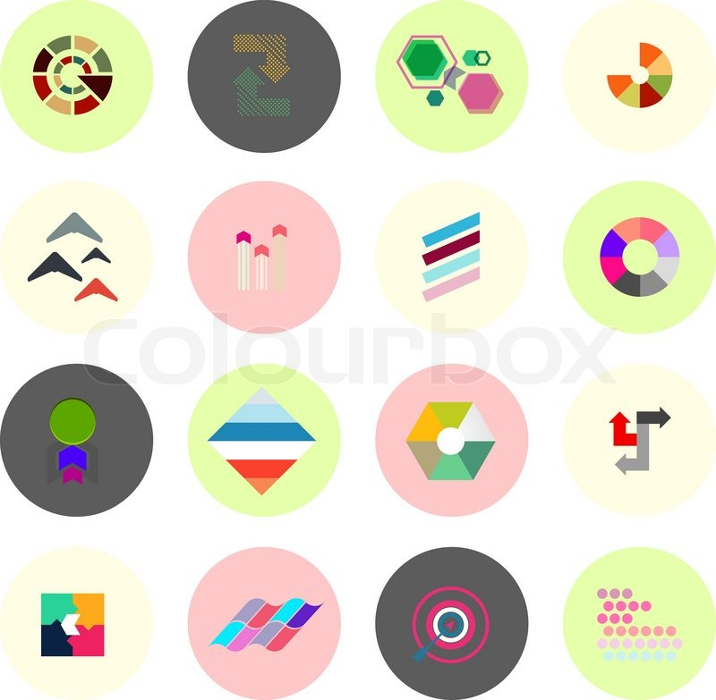 Icons for infographics