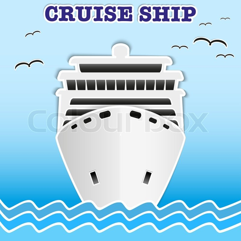 free clip art cartoon cruise ship - photo #42